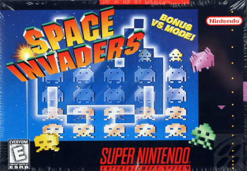 Space Invaders - US-Version / NTSC
