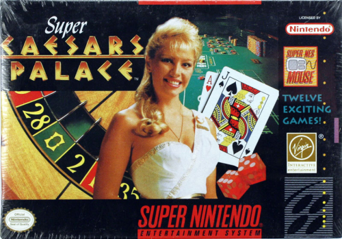 Super Caesars Palace - US-Version / NTSC