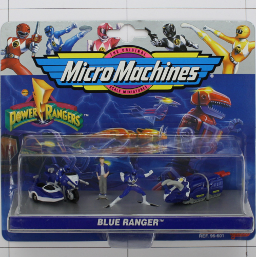 Blue Ranger, Power Rangers, Micro