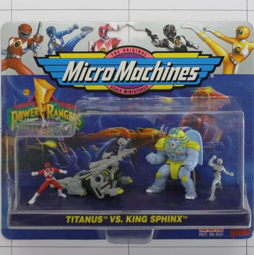 Titanus vs Sphinx, Power Rangers, Micro