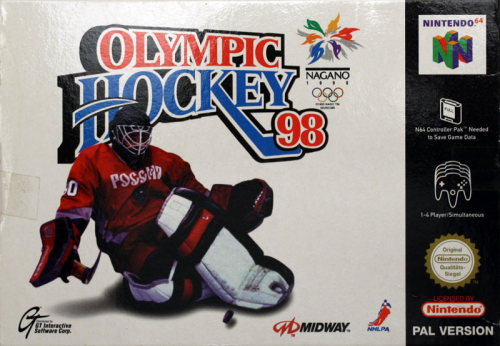 Olympic Hockey 98 - N64