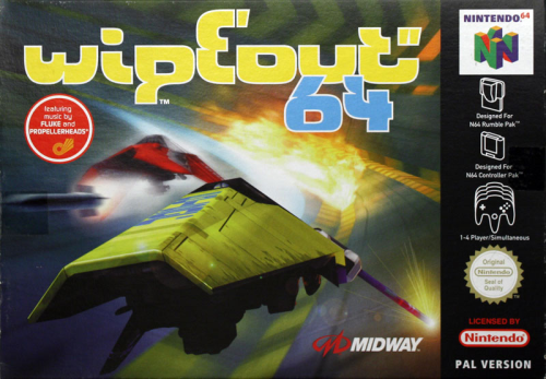 Wipeout 64 - N64