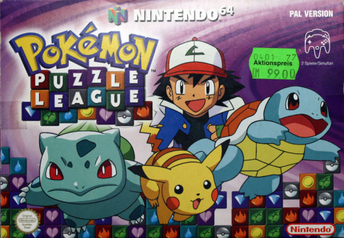 Pokémon Puzzle League - N64