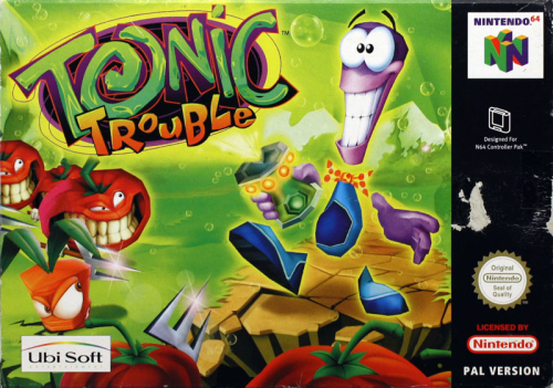 Tonic Trouble - N64