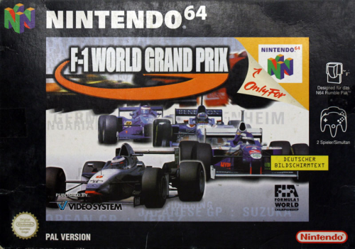 F1 World Grand Prix - N64