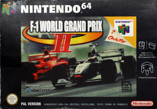 F1 World Grand Prix 2 - N64