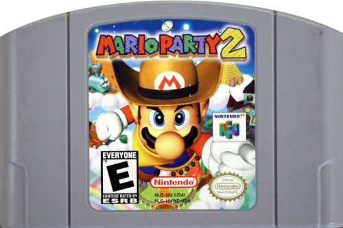 Mario Party 2 - N64 - US-Modul / NTSC
