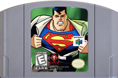 Superman - N64 - US-Modul / NTSC