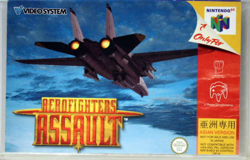 Aerofighters Assault - N64 - JAP