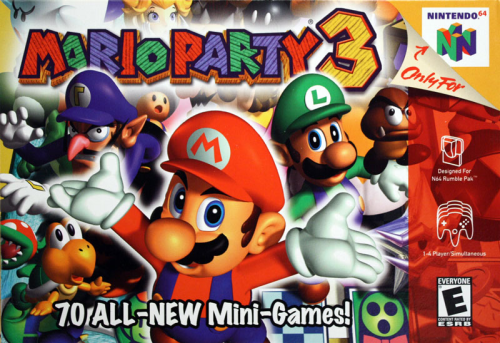 Mario Party 3 - N64 - US / NTSC
