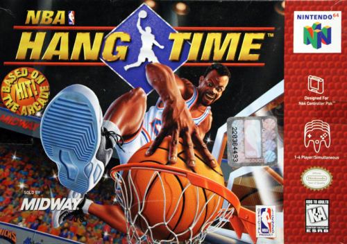 NBA Hang Time o.A. - N64 - US / NTSC