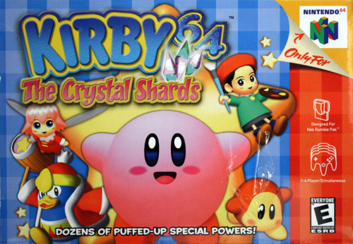 Kirby 64 - The Crystal Shards - N64 - US / NTSC