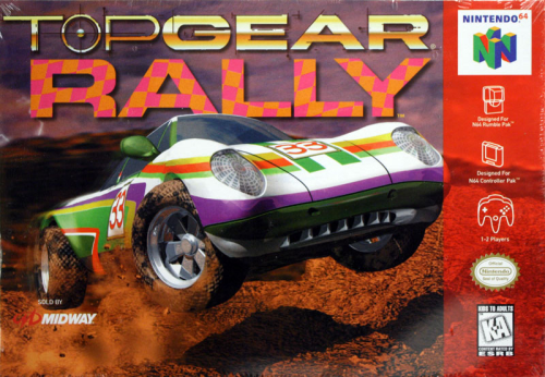 Top Gear Rally - N64 - US / NTSC