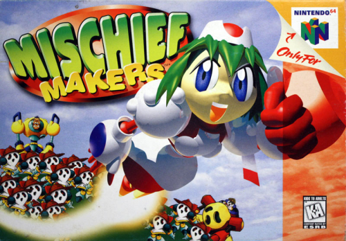 Mischief Makers - N64 - US / NTSC