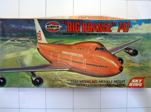 "Boeing 747 ""Big Orange"", Airfix 1:144"