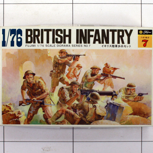 British Infantry, Fujimi 1:76