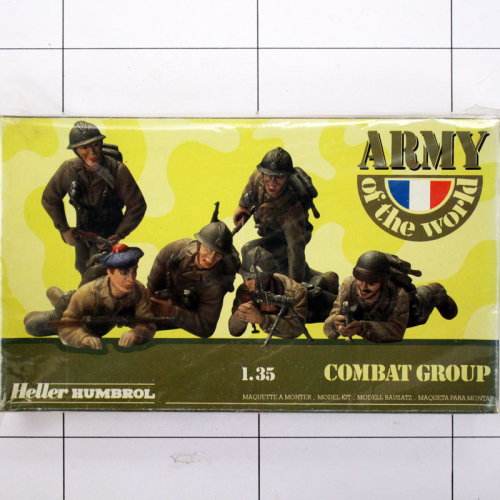 Army of the World - Combat Group, Heller Humbrol 1:35