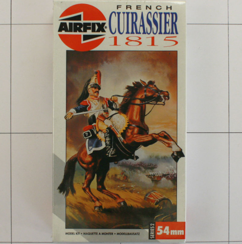 French Cuirassier 1815, Airfix 54 MM-Serie