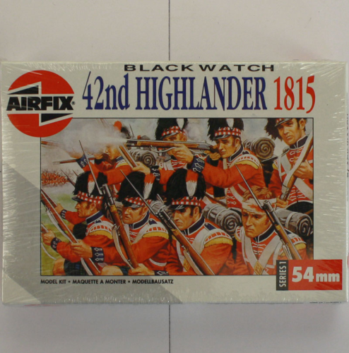 42nd Highländer 1815, Airfix 54 MM-Serie