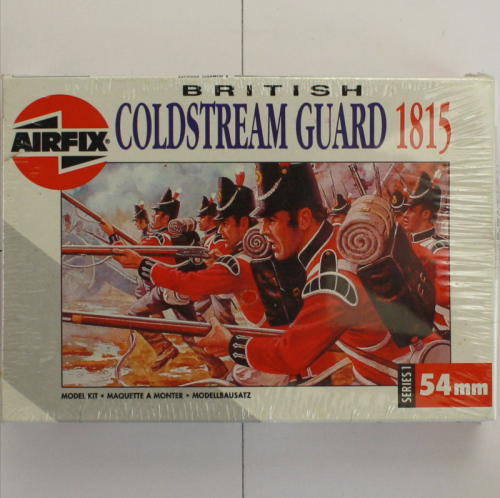 British Goldstream Guard 1815, Airfix 54 MM-Serie