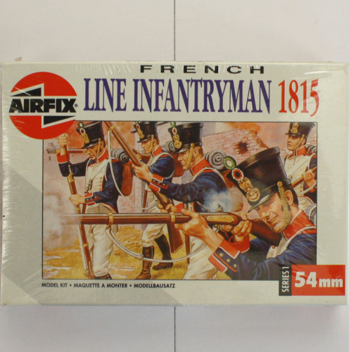 French Line Infantryman 1815, Airfix 54 MM-Serie