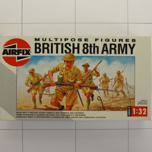 British 8th Army, Airfix, Multipose Figuren