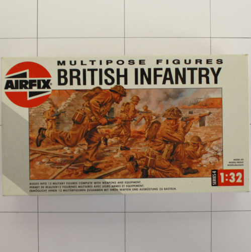 British Infantry, Airfix, Multipose Figuren