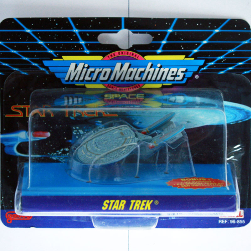 U.S.S. Enterprise 1701, Star Trek, Micro Machines