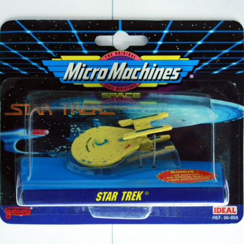 U.S.S. Stargazer, Star Trek, Micro Machines