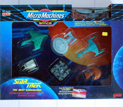 Star Trek: The next Generation (6+1) Ltd. Edition, Micro Machines