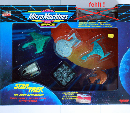 Star Trek: The next Generation (6), Micro Machines
