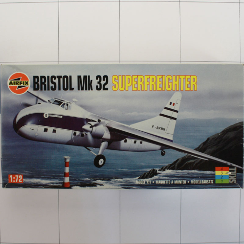 Bristol Mk32 Superfreighter, Airfix 1:72