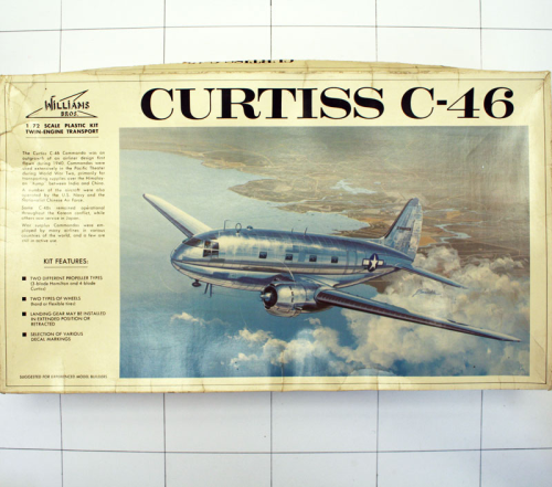 Curtiss C-46, Williams Bros. 1:72