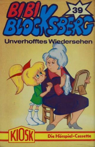 Bibi Blocksberg Gelbe Aufkleber