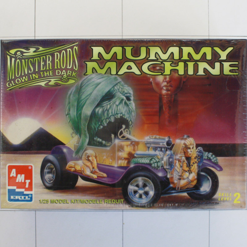 Mummy Machine, Monster Rods, Amt/Ertl 1/25