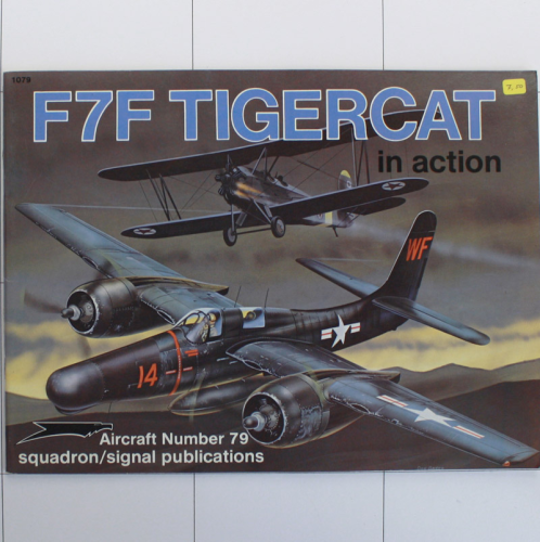 F7F Tigercat in Action, Aircraft in Action