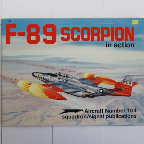 F-89 Scorpion in Action, Aircraft in Action