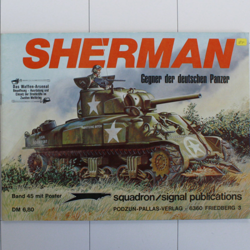 Sherman, Waffen-Arsenal