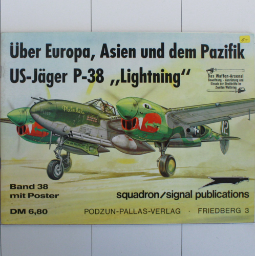 P-38 Lightning, Waffen-Arsenal