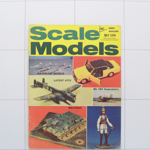 Scale Models July 1970