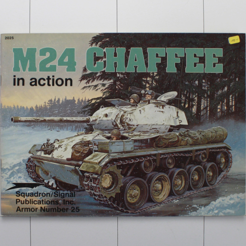M24 Chaffee in Action, Armor in Action