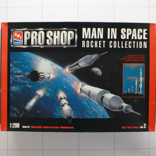 Rocket Collection, Amt 1:200