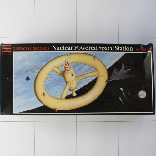 Nuclear Powered Space Station, Glencoe 1: 300