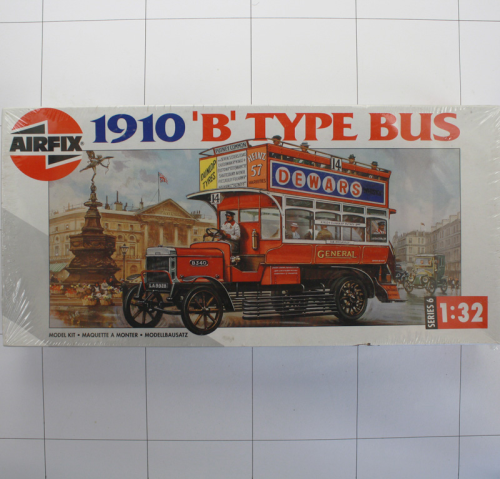 "1910 ""B"" Type Bus, Airfix 1:32"