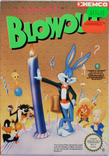 Blowout, NES, Nintendo