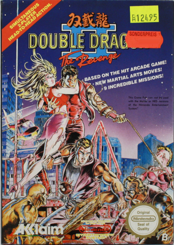 Double Dragon II, NES, Nintendo