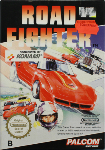 Road Fighter, NES, Nintendo