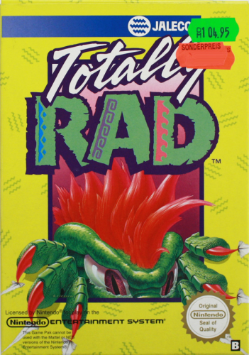Totally Rad, NES, Nintendo