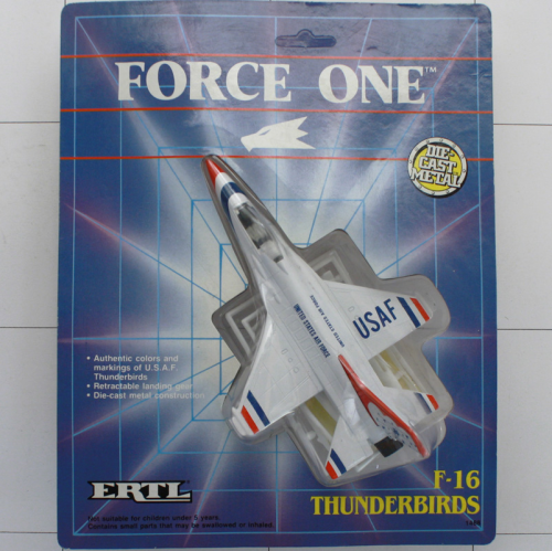 F-16 Thunderbirds, Die-Cast Metal, Ertl