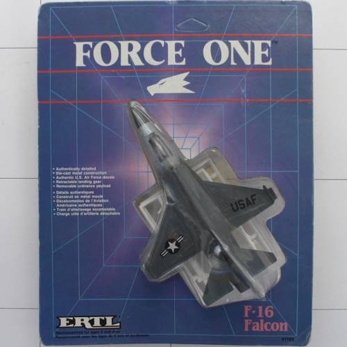 F-16 Falcon, Die-Cast Metal, Ertl